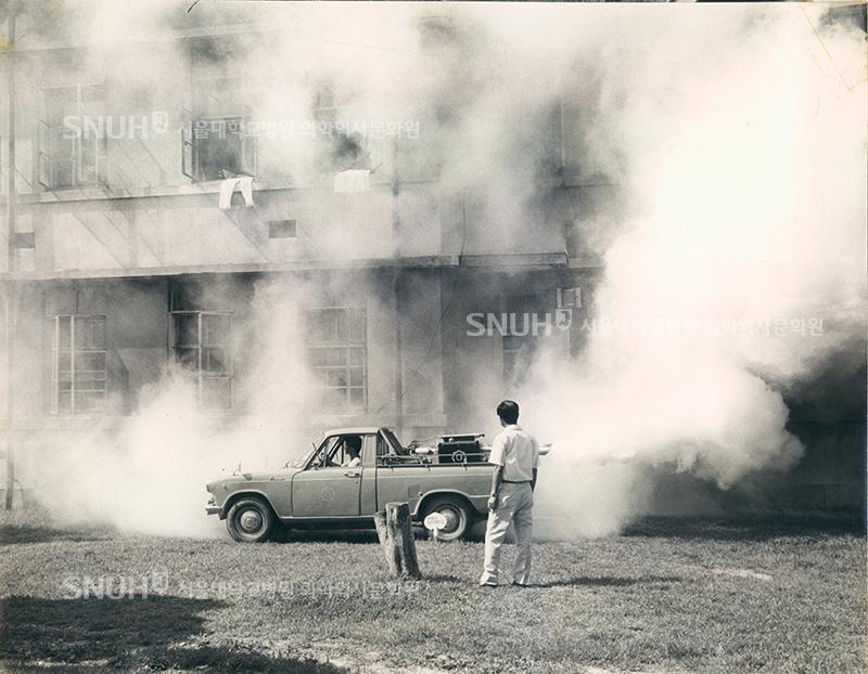 [1970년경] 병동 소독 모습