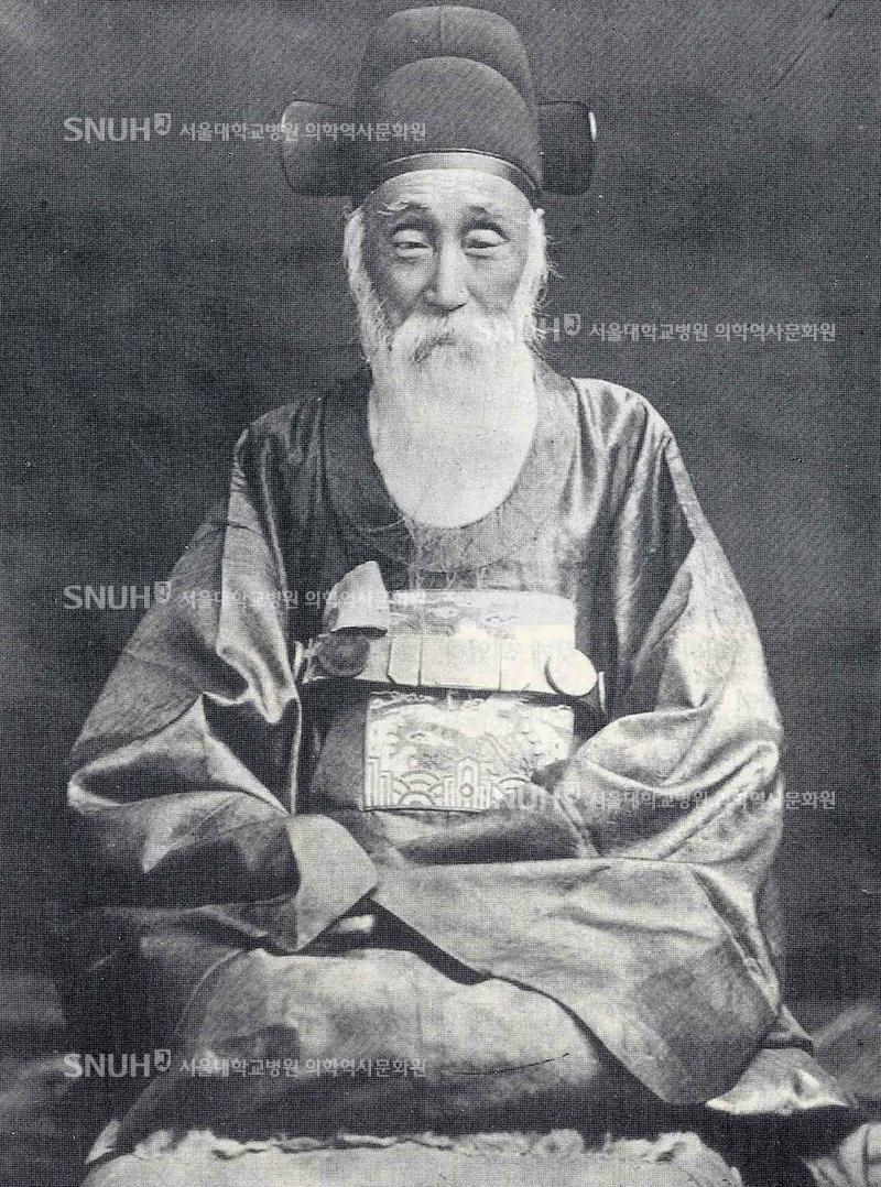 1910년경 - 제중원의 초대 원장이었던 김윤식
